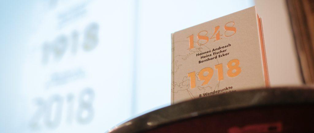 Storybild  buchpremiere-1848-1918-2018-von-hannes-androsch-heinz-fischer-und-bernhard-ecker 01