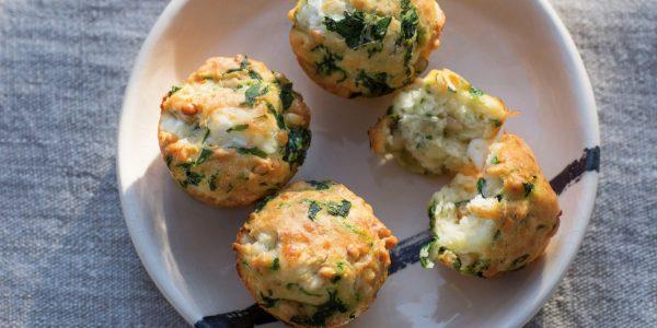Storybild  pikante-spinat-pinienkern-muffins 01